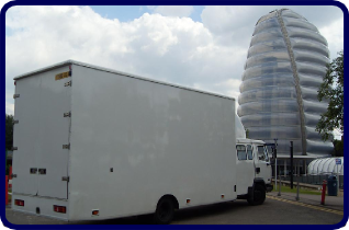 Nottingham Removals Large Capacity Van